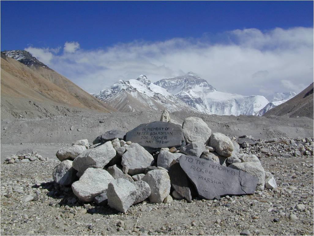 La spedizione britannica alla cresta NE dell'Everest, 1982 Pete-b1
