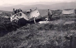 1982 F111 Crash at Strathconnon both crew got out alive a great result. Unfortunately a few months later this was not the case.