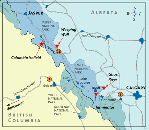 map canada ice