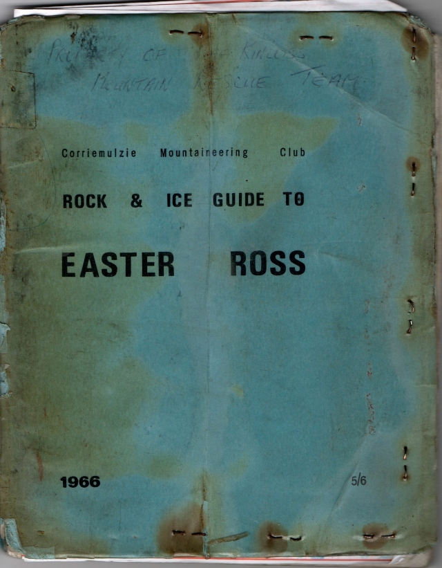 1966  Easter Ross Guide Book