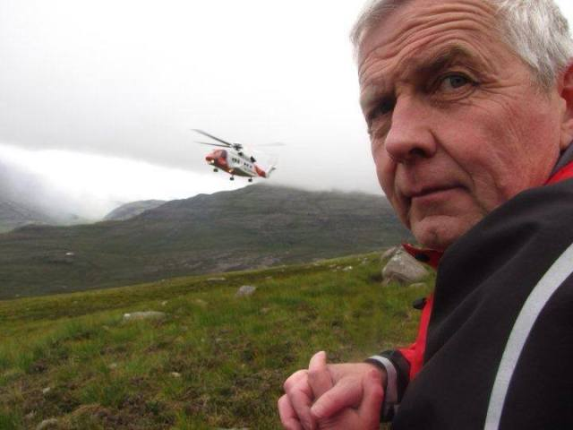 Torridon Eoghain - a great friend and Team Leader.