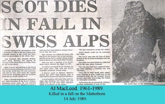 Al Mac Leod RIP