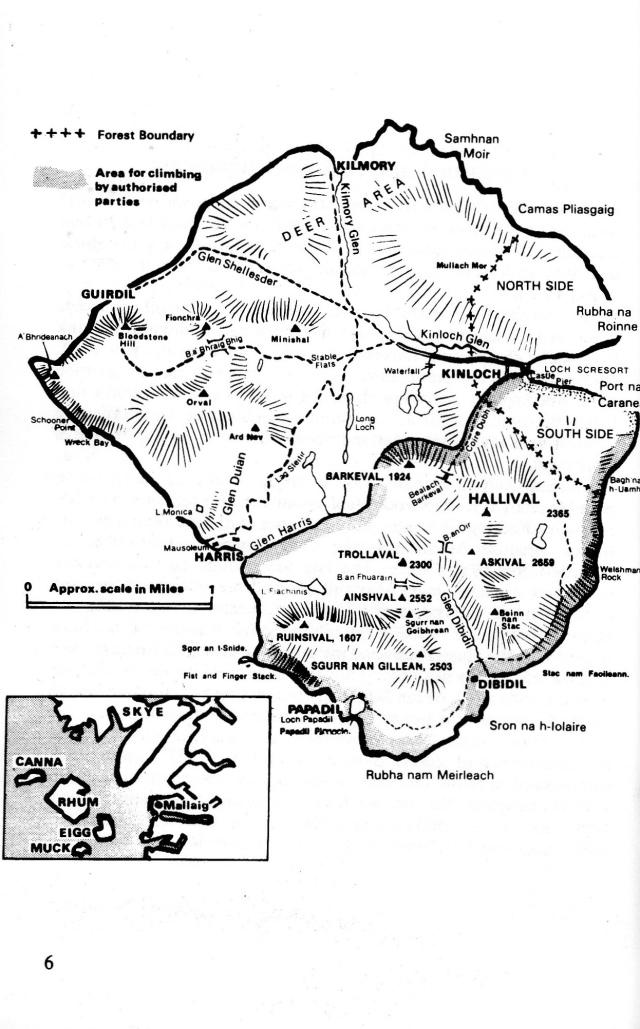 Rum map
