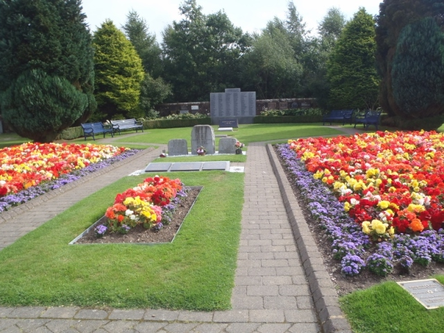 The Lockerbie Remembrance Garden and  memorial