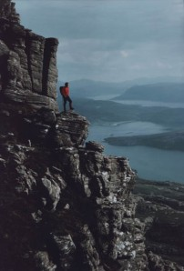 The late Phil Jones - he left a legacy that continues to this day. PhotO Assynt MRT.