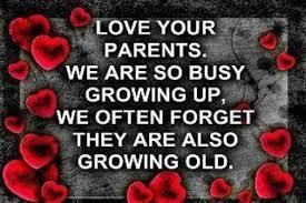 Love yr parents