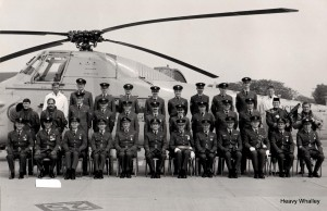 1984 RAF Leuchars Wessex all looking very smart!
