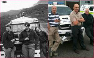 At Kintail and get the ice axes brought out and a few years later!