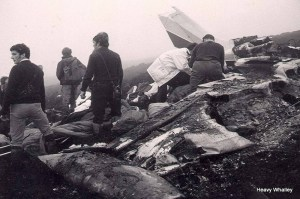 1983 The Balbeggie crash near Dundee 4 survivors after an all night search.