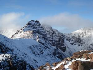 An Teallach the winter Mountaineers dream mountain?