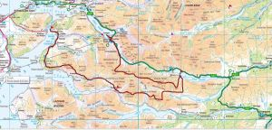 Map 2 - Glenelg - Kintail