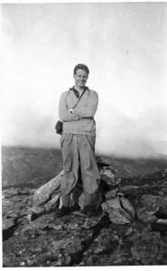My Dad on Beinn A Chleibh in 1938