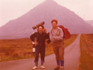Myself and Paul at Glencoe!