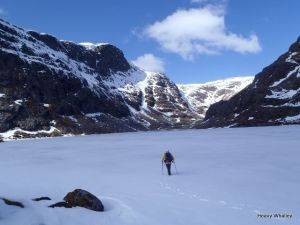 Beinn Dearg Coire Ghranda for Mark last winter!