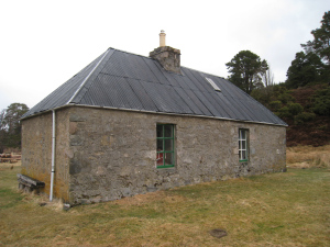 Feshie Bothy what a great place after a wild day.