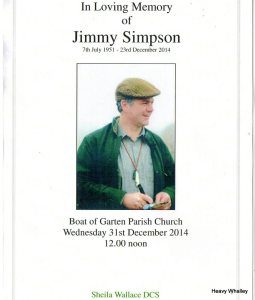 2014 Jimmy Simpson Dec
