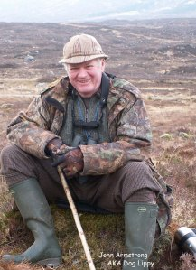 Jimmy Simpson - in his hill gear - photo