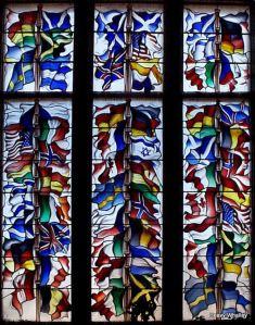 Lockerbie memorial window