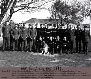 1985 RAF Leuchars MRT
