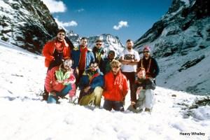 Willie 1990 Trip Himalayas Kusung Kangaroo Alpine Style