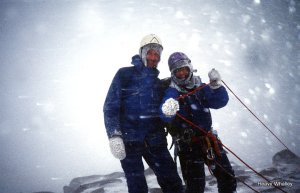 1992 Top Of Lochnagar on a wild day - we learn from every experience