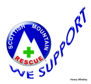 The new Scottish Mountain Rescue Badge Green Cross.