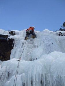 Kishorn Ice - 5 minutes walk in - Hardest part is parking.