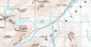 map avalanche Culra 1972