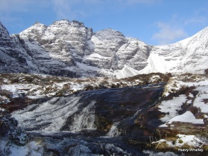 For Bill and the family An Teallach in all its glory a mountain Bill  loved.