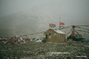 A bleak and dusty Base Camp!
