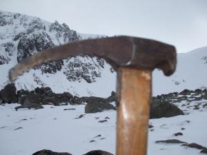 Chounaird ice hammer.