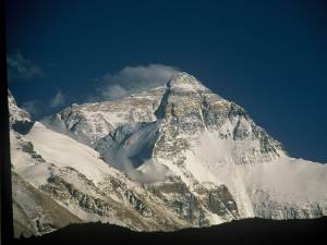 The incredible daily view of Everest from the North  - mind-blowing in size and wild beauty.