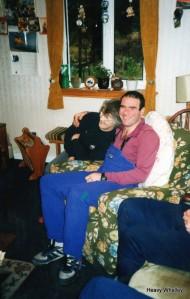 Elma with Dan the man!