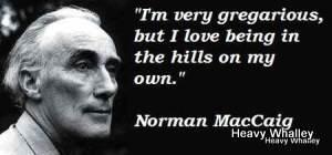 Norman MacCaig - A Man in Assynt