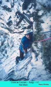 Neil Main a top young climber and great pal/