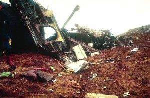 1991 Harris Crash Shackelton main wreckage