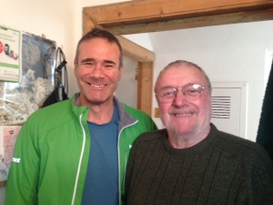 Old and Bold Dan Carrol ex RAF Team Leader and Donald Watt Ex Team Leader Lochaber MRT WITH 40 Years of Mountain Rescue experience.