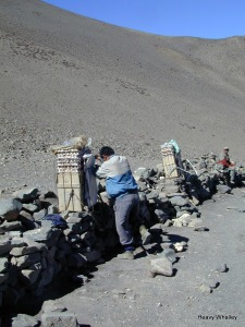 Nepal - Annapurna Trek  Limited infrastructure much has to be carried in the remote areas.