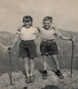 1957 Goat fell as a family we did all the hills no gear!