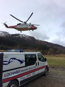 Lochaber MRT facebook photo and the first day of R951 Safe Flying.