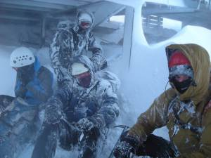 Wild Weather in winter photo Cairngorm MRT - ARE YOU PREPARED?