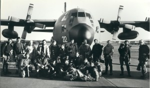 1979 RAF Valley Team in North Wales fly to Jaguar Crash on Ben Lui.