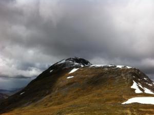 Beinn Fhionnlaidh Glencoe - a wild area