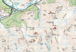 Ben More Hills Map