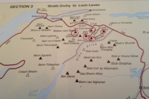 Etive Munros and Glencoe Hills