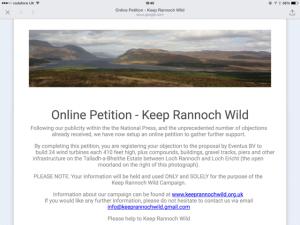 Rannoch Wind Farms