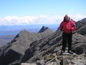 The  far end of the ridge Sgur na Each