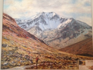 My painting of the great Coire Of Ben Lui a favourite place!