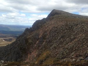 Lurchers Crag the lost Munros - good scrambling but watch out for loose rocks!