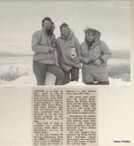 1977 End Of Walk on Mount Keen
